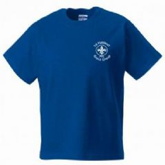1st Halstead Scouts T-Shirt - Childs & Adults